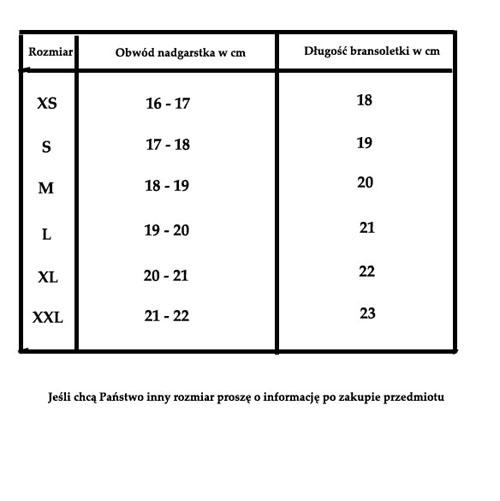 Tabela bransoletki